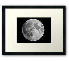 The Moon: Earth's Little Pet Framed Print