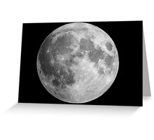 The Moon: Earth's Little Pet Greeting Card