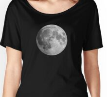 The Moon: Earth's Little Pet Women's Relaxed Fit T-Shirt