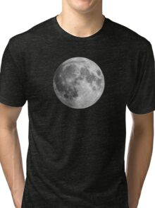 The Moon: Earth's Little Pet Tri-blend T-Shirt