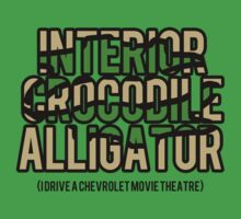 Interior Crocodile Alligator by crispians