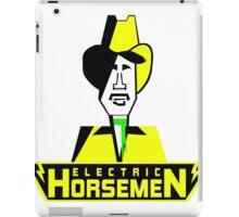 Electric Horsemen (Vintage 1) iPad Case/Skin