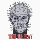 Pinhead Wants to Play by AmyVillainous