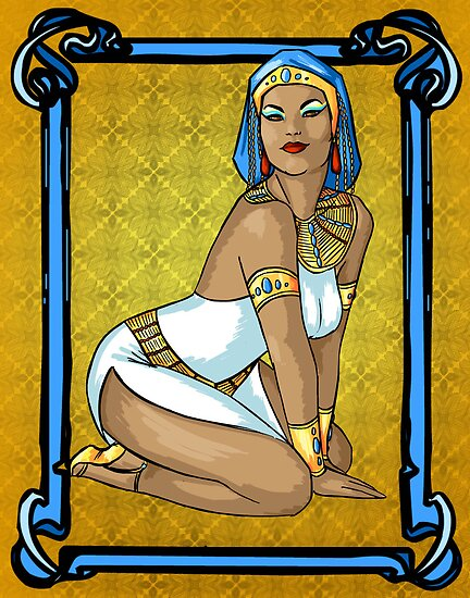 Ancient Egyptian Priestess by CatAstrophe