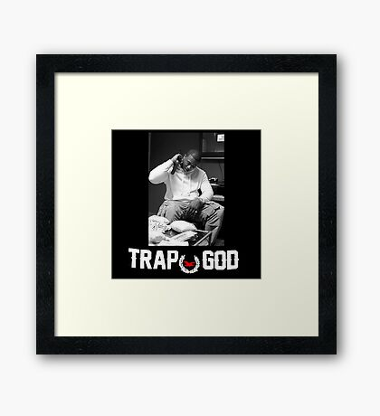 Gucci Mane The Ice Cream Man Framed Print