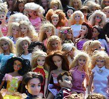 Dolls at the flea market by Kate Farkas