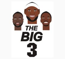 MIAMI HEAT BIG 3  by fLeMo1