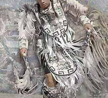 Native American Dancer by Dyle Warren