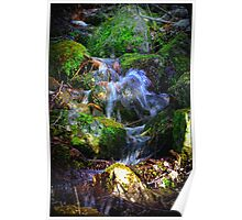 MountainSide Trickle Poster