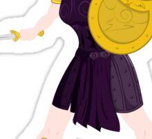 Megara - Warrior Princess Sticker
