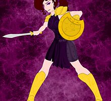 Megara - Warrior Princess by jlechuga
