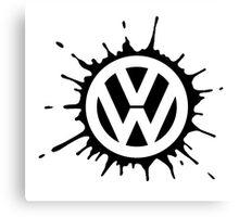 VW splat Canvas Print