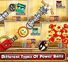 Tiny Ball vs Evil Devil 2 - Simple Addicting Physics Game by johnmorris8755