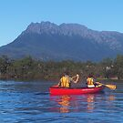 Canoeing Rosebury, Tasmania. by Esther's Art and Photography