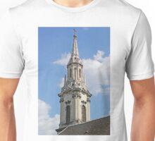 Spire of Franciscan Church, Budapest Unisex T-Shirt