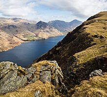 Wast Water & Whin Rigg by David Lewins