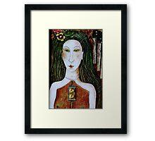 WICCA WOMAN Framed Print