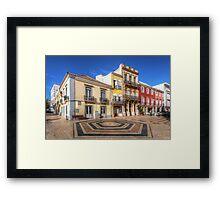 City Of Faro Framed Print
