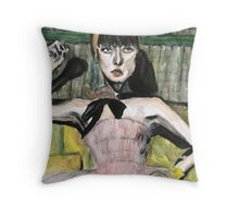 Chanel Model Throw Pillow