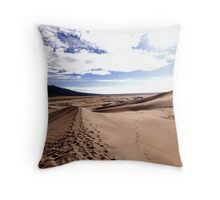 Mountain Desert Throw Pillow