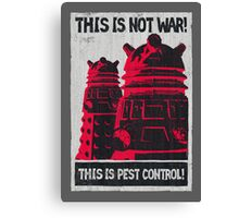 Planetary Pest Control Canvas Print