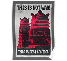 Planetary Pest Control Poster