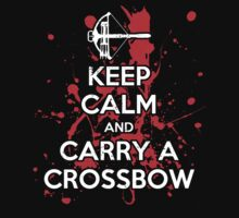Keep Calm And Carry A Crossbow T-Shirt