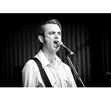 Chris Russell at Deni Blues & Roots Fest Photographic Print