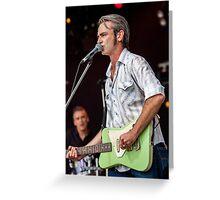 Chris Russell @ Deni  Greeting Card