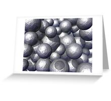 Heavy Metal Spheres Greeting Card