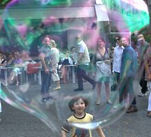 Happy Bubble  by Aleksandar Topalovic