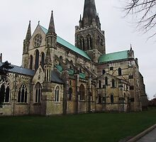Chichester Cathedral by Joyce Knorz