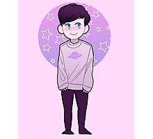 Space Sweater Phil Photographic Print