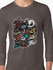Nightmarish Characters Long Sleeve T-Shirt