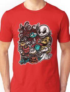 Nightmarish Characters Unisex T-Shirt