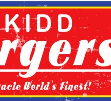 Alex Kidd Burgers Tshirt Sticker