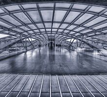 Oriente Bridge BW by manateevoyager