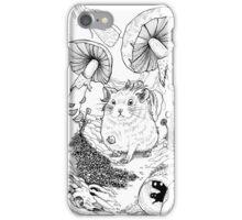 Hamster In Wonderland iPhone Case/Skin