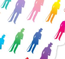 It's raining rainbow gentlemen... Hallelujah! Sticker