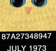 Jail Bird Sticker