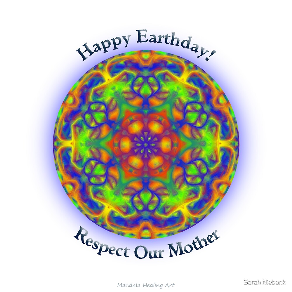 Earth Day Mandala by Sarah Niebank