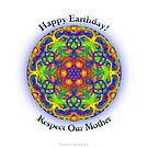 Earth Day Mandala by shoffman