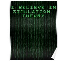 Simulation Theory Poster