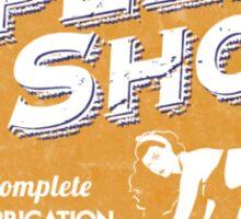 Vintage Garage Sign Sticker