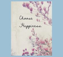 Choose Happiness Kids Clothes