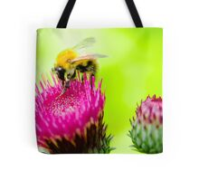 Bumble Bee on Thistle Tote Bag