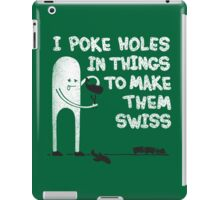 Making Swiss Happen iPad Case/Skin