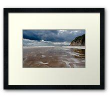 Dane's Dyke Beach, Bridlington Framed Print