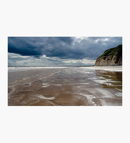 Dane's Dyke Beach, Bridlington Photographic Print