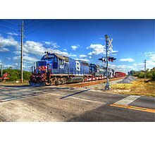FEC choo choo train Photographic Print